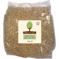 Tree of Life Organic Short Grain Brown Rice 1kg