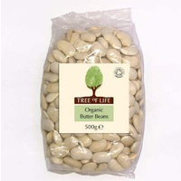 Tree Of Life Organic Butter Beans 500g