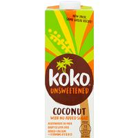 Koko Unsweetened Coconut UHT 1L