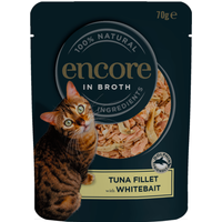 Encore in Broth Tuna Fillet with Whitebait 70g