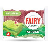Fairy Multi Purpose Scourer 4pk