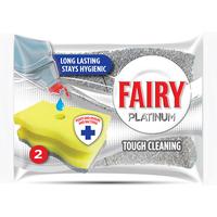 Fairy Hygienic Scourer Platinum 2pk