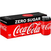 Coca-Cola Zero Sugar Fridge Pack 10 x 330ml