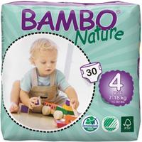 Bambo Nature Nappies Size 4 Maxi - 30s