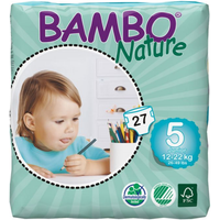 Bambo Nature Nappies Size 5 Junior -27s