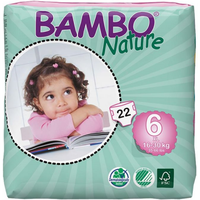 Bambo Nature Nappies Size 6XL Plus - 22s