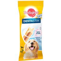 Pedigree Dentastix Large Dog Treats 7 Sticks 270g