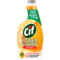 Cif Power & Shine Kitchen Spray Refill Bottle 700ml