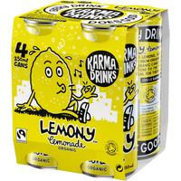 Karma Drinks Fairtrade Organic Lemony Lemonade 300ml