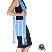 Karen Hilltribe Shoulder Bag, Light Blue