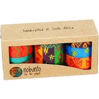 Hand Painted table candles, 3 pack, Shahida
