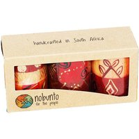 Hand Painted table candles, 3 pack, Liztoni