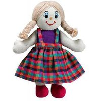Girl Doll white/blonde