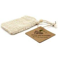 Natural Soap Bag - Washed Jute