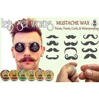 Strong Hold Moustache Wax Eucalyptus