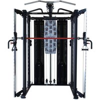 Image of Inspire Full Smith Cage System w SCS bench, leg unit & preacher