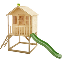 TP Hill Top Tower Wooden Playhouse with Slide-FSCandreg;