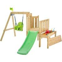 TP Forest Toddler Wooden Swing Set and Slide-FSCandreg