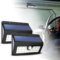 Outdoor Solar Lights 20 LED Motion Sensor Security Light