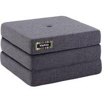 "byKlipKlap faltbare Matratze & Sessel ""KK 3 Fold Single"" (65x65cm) - Blue grey / grey"