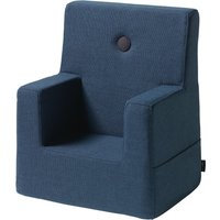 "byKlipKlap Kindersessel ""KK Kids Chair"" (0-3 Jahre) - Dark blue / black"