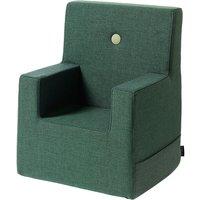 """byKlipKlap Kindersessel """"KK Kids Chair XL"""" (2-6 Jahre) - Deep green / light green"""