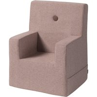 "byKlipKlap Kindersessel ""KK Kids Chair XL"" (2-6 Jahre) - Soft rose / rose"