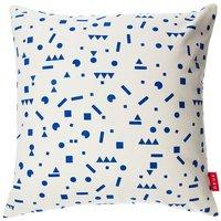 Deuz Deko Kissen aus Baumwolle (40x40) in blau