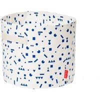 Deuz Spielzeugkorb aus Bio-Baumwolle (30x25 cm) mit Tragegriffen in blau