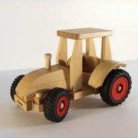 FAGUS Traktor - Schlepper Holzfahrzeug | Modell: 10.29 (ab 2 Jahren)