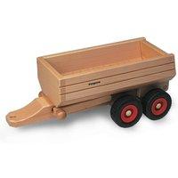 FAGUS Muldenkipper Anhänger für Holzfahrzeug | Modell: 10.31 (ab 3 Jahren)