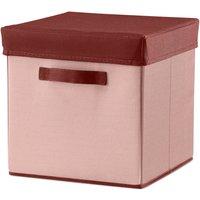 Flexa ROOM Aufbewahrungskiste (30cm) mit Deckel in rosa