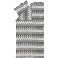 """Flexa Popsicle Bettwäsche """"Liquorice"""" aus 100% Baumwolle (80x80 / 140x200 cm) in grau"""