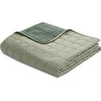 Flexa ROOM Steppdecke Tagesdecke (230x200 cm) aus 100% Baumwolle in grün