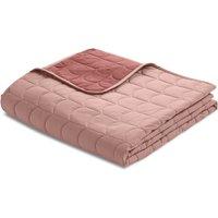Flexa ROOM Steppdecke Tagesdecke (230x200 cm) aus 100% Baumwolle in rosa