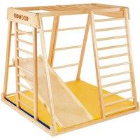 "Kidwood Kinder-Klettergerüst ""Rakete BASIS Set"" aus Holz (3-teilig) für Kinderzimmer"