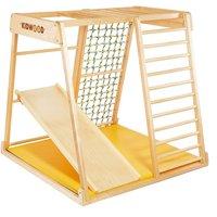 """Kidwood Kinder-Klettergerüst """"Segel BASIS Set"""" aus Holz (3-teilig) für Kinderzimmer"""