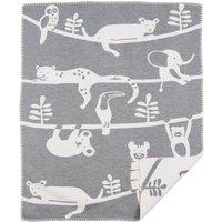 """Klippan Babydecke """"Siesta grey"""" (70x90 cm) aus organischer Baumwolle"""