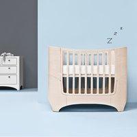 Leander Classic Babybett (von 0-7 Jahre) aus Holz inkl. Junior-Umbauset in whitewash