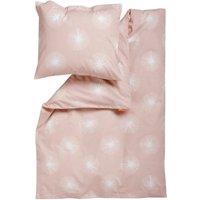 """Leander Baby-Bettwäsche aus Baumwolle """"Flora"""" (70x100 / 40x45) in rosa / Soft Pink"""