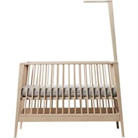 Leander Linea Himmelgestell aus Buchenholz für Babybett