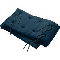 Leander Nestchen für Linea und Luna Babybett (180x30cm) aus Bio-Baumwolle, Dark Blue
