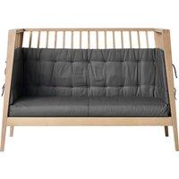 Leander Sofa-Set für Linea und Luna Babybett (120cm) aus Bio-Baumwolle Cool Grey