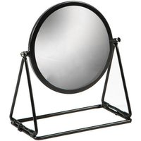 Harbour Housewares Round Dressing Table Mirror - 18cm - Black