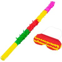 Fax Potato 2pc Pinata Buster Stick and Blindfold Set