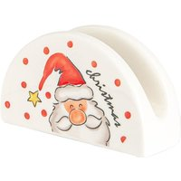 Christmas Napkin Holder - Santa - By Nicola Spring