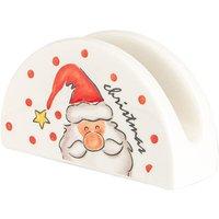 Nicola Spring Christmas Napkin Holder - Santa