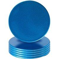 Metallic Coasters - Pack of 6 - By Argon Tableware