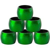 Metallic Napkin Rings - Pack of 6 - By Argon Tableware