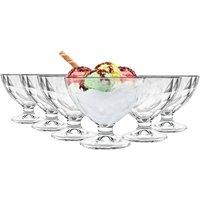 Diamond Ice Cream Bowls - 360ml - Pack of 6 - By Bormioli Rocco